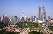 pic of petronas twin towers  - kuala lumpur city - JPG