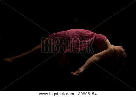 Low Key Female Levitating