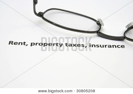 Rent Property And Taxes