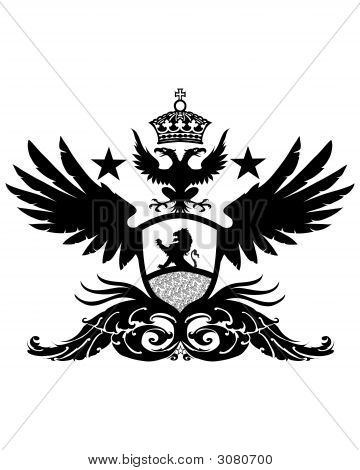Winged Lion Crest Image