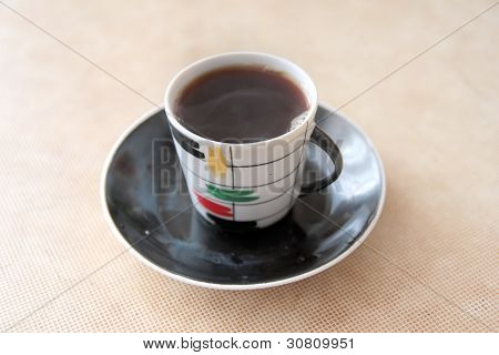 cup of the coffee
