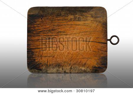 Wood Block Reflection
