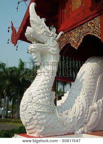 White Naka Statue