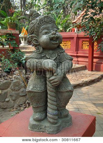 Little Thai Orge Statue