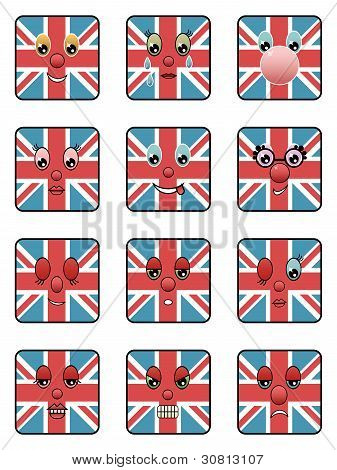 Uk Emoticons