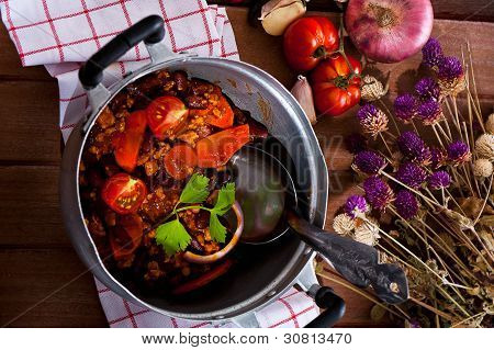Mexikanische Spezialität - Chili Con Carne