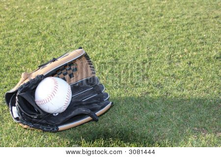 Glove With Ball