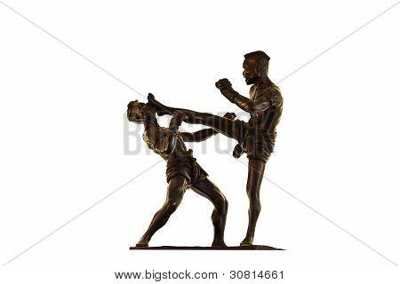 Model Of Thai Boxing ( Muay Thai )