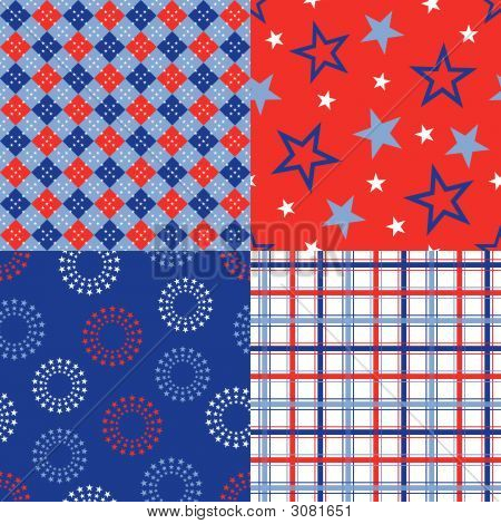Fourth Of July Patterns