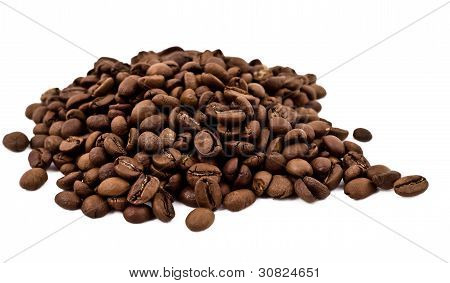 A Lot Of Coffee Beans