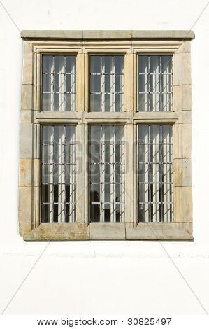 Stone Carved Window.