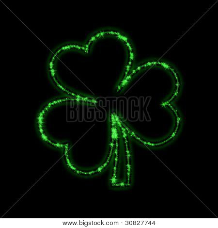 Shining Green Trefoil