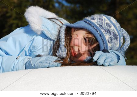Girl In Winter Coat