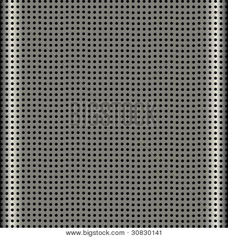 Aluminum Speaker Grill Texture