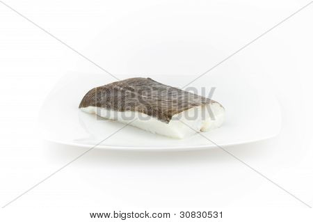 Raw Cod Fish. Seafood For Sushi Sashimi And Other Dishes