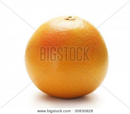 Orange, isolated on white