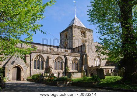 Iglesia de San Nicolás. Arundel. West Sussex. Inglaterra