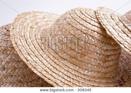 Colección de sombrero de paja