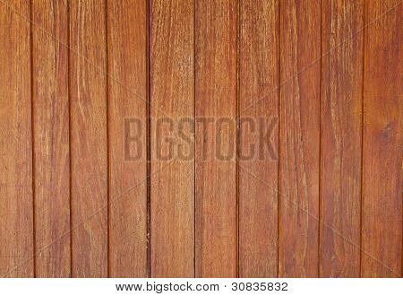 The Brown Wooden Partition
