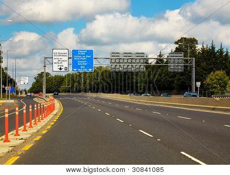 M4 Motorway To Galway