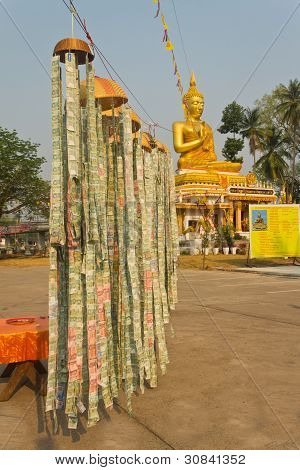 Buddhist Temple donations for improvements