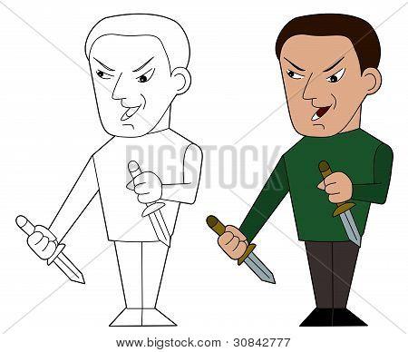 Dibujos animados Assasin