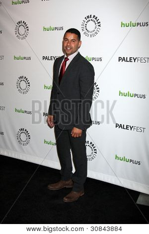 LOS ANGELES - MARCH 9:  Jon Huertas arrives at the