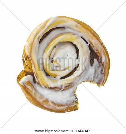 Cinnamon Roll Top Bitten