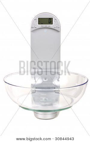 Báscula de cocina electrónica