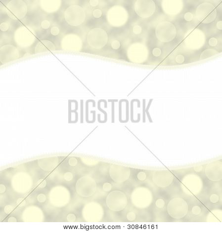 Beige background with circles. Your text