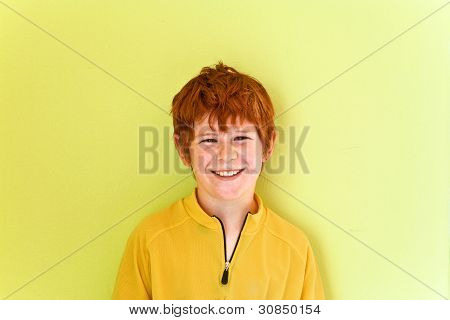 Portrait Of Friendly Looking Boy