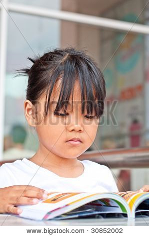 Asian children in relax time