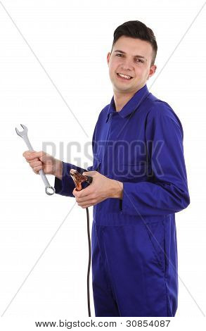 Guy With Tools
