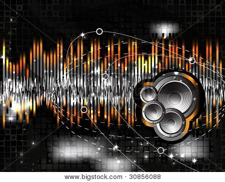 Speaker and sound wave