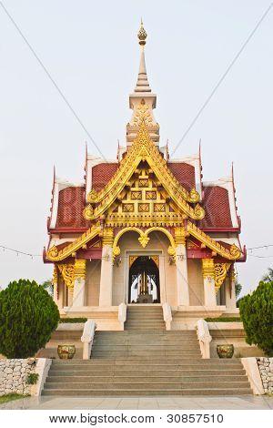 Pillar Shrine in Thailand