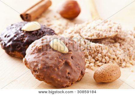 Lebkuchen christmas cookies