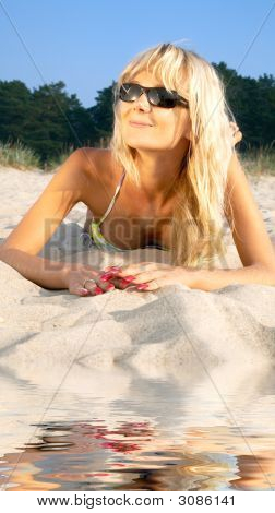 Beach Blonde Girl