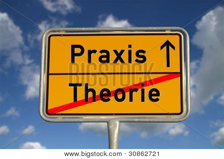 German Road Sign Theory And Praxis