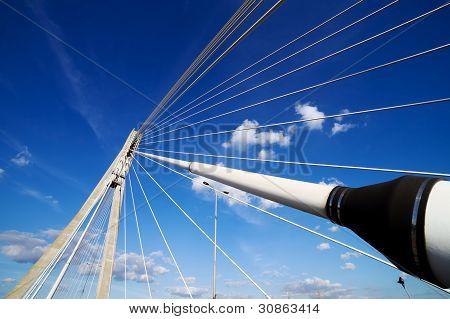 Suspension Bridge Contemporary Shape