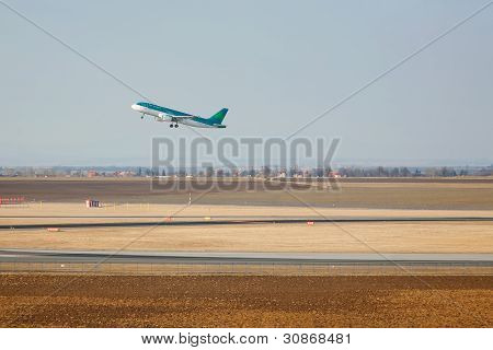 Airbus Taking Off