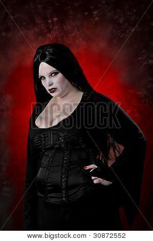 Fire Eyed Vampiress