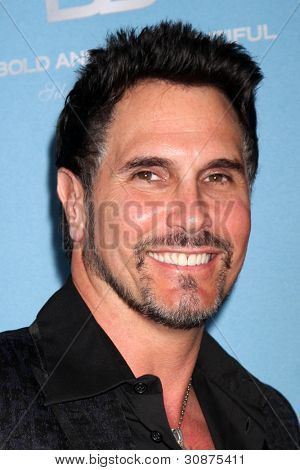 LOS ANGELES - MAR 10:  Don Diamont arrives at the Bold and Beautiful 25th Anniversary Party at the Perch Resturant on March 10, 2012 in Los Angeles, CA