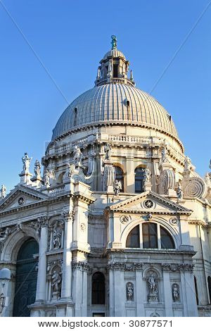 Basilica Of St Mary Of Health In Venice
