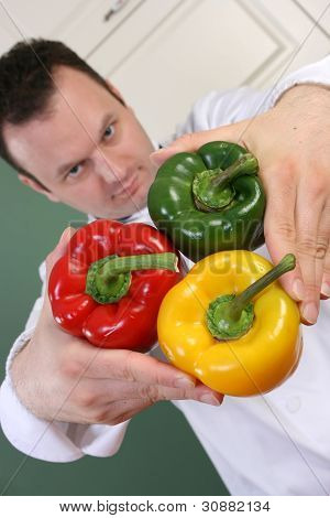 Chef And Peppers