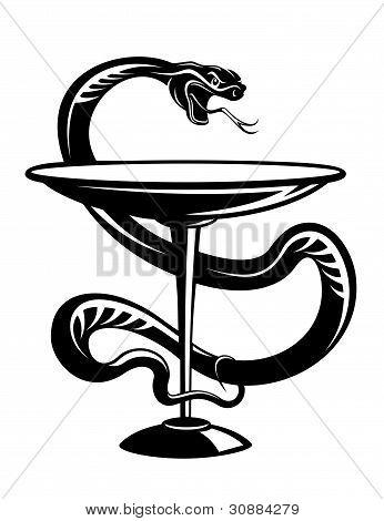 Medicine Snake Symbol