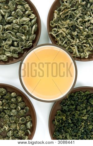 Collection Of Green Teas