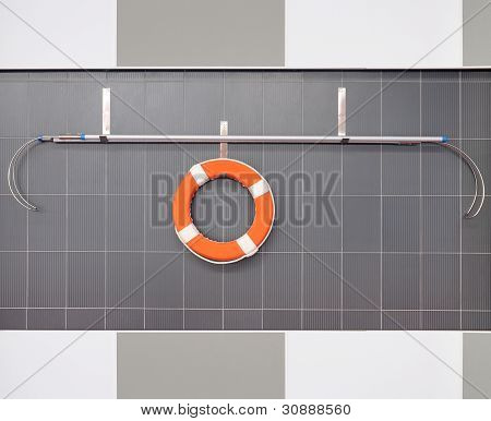 Orange Lifebuoy