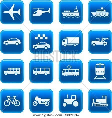 Transport-Icons / Buttons
