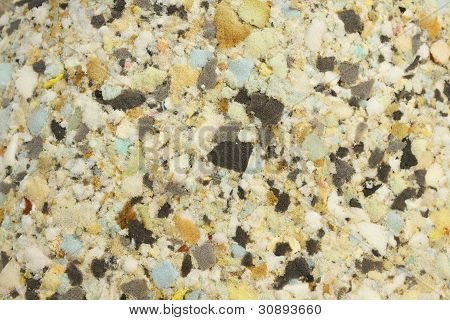 Textura de esponja