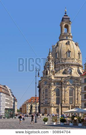 Frauenkirche Church, Dresden, Germany
